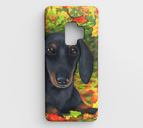 Dog 142 Dachshund Samsung Galaxy S9 phone case