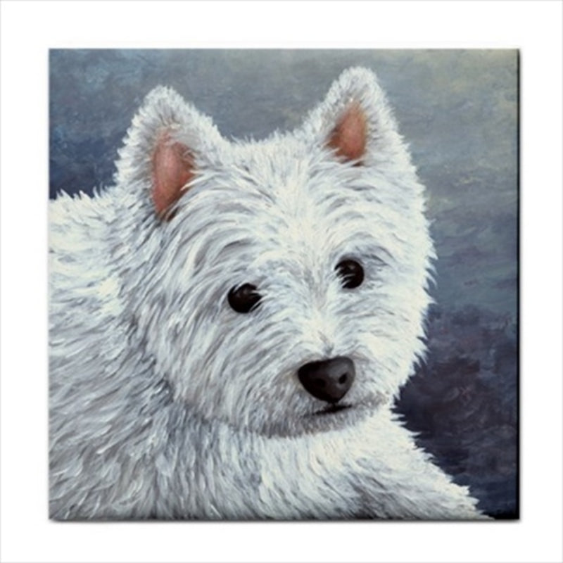Dog 137 Ceramic Tile