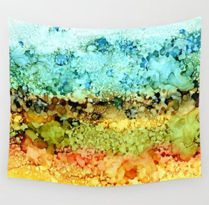 Abstract 35 Wall Tapestry