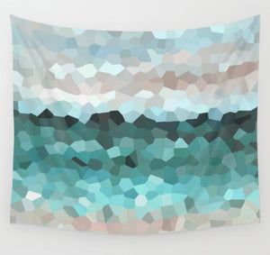Design 86 Mosaic look Wall Tapestry