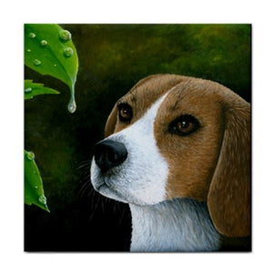 Dog 116 Beagle Ceramic Tile
