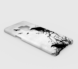 Design 43 Crow Samsung Galaxy S9 phone case