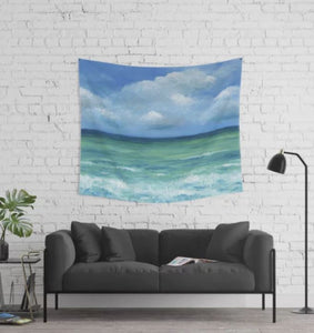 Sea View 273 Wall Tapestry