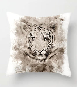 Tiger 4 Throw Pillow