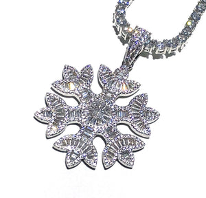 Icy Snowflake Chain