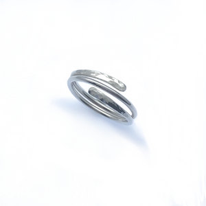 Sterling Silver Adjustable Wrap Ring Offer