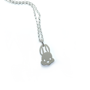 Sterling Silver Bunny Rabbit Pendant