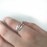 Sterling Silver Adjustable Wrap Ring