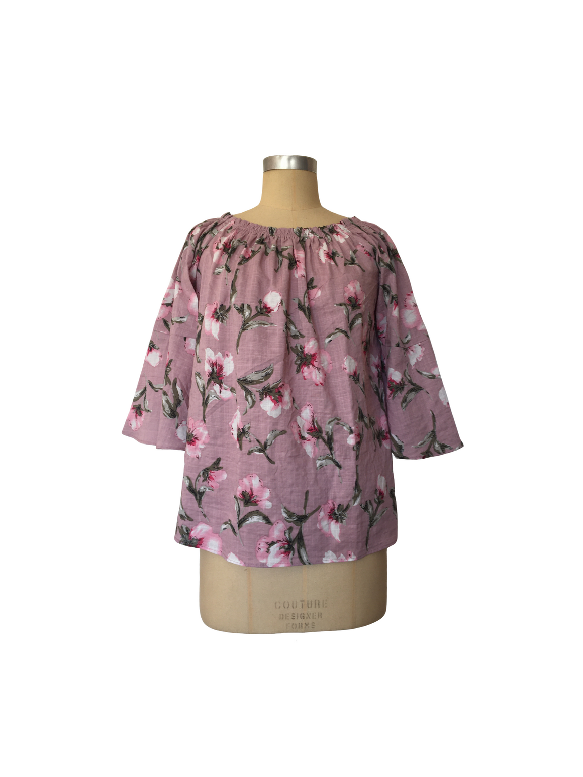 Bell Sleeve Top - Musk