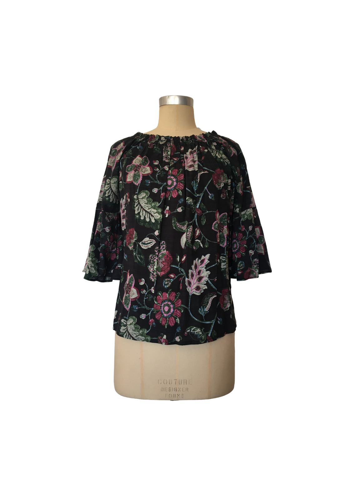 Bell Sleeve Top - Ink