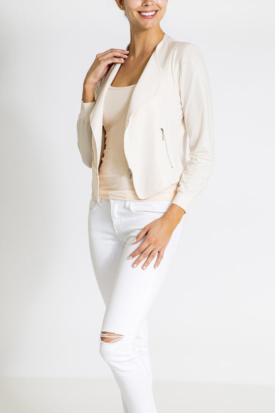 The Little Diva Jacket - Ivory