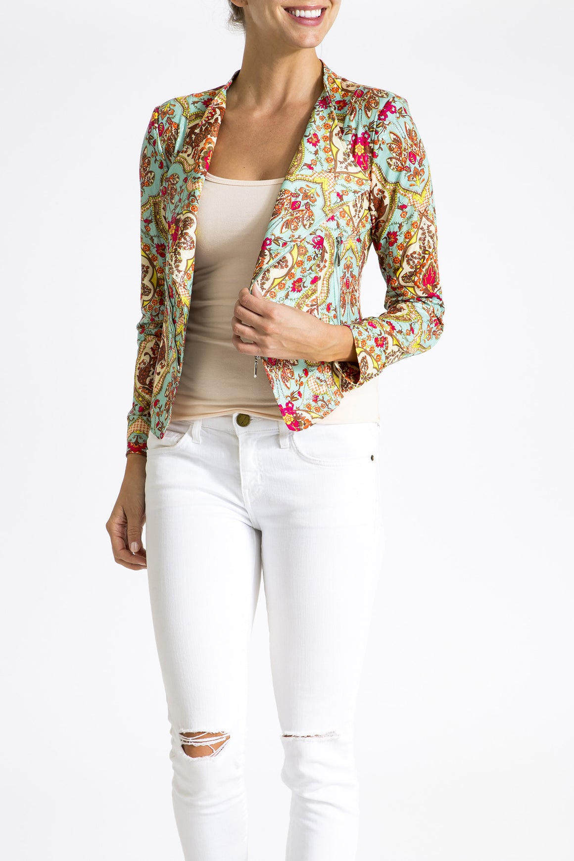 The Little Diva Jacket - Venetian Garden