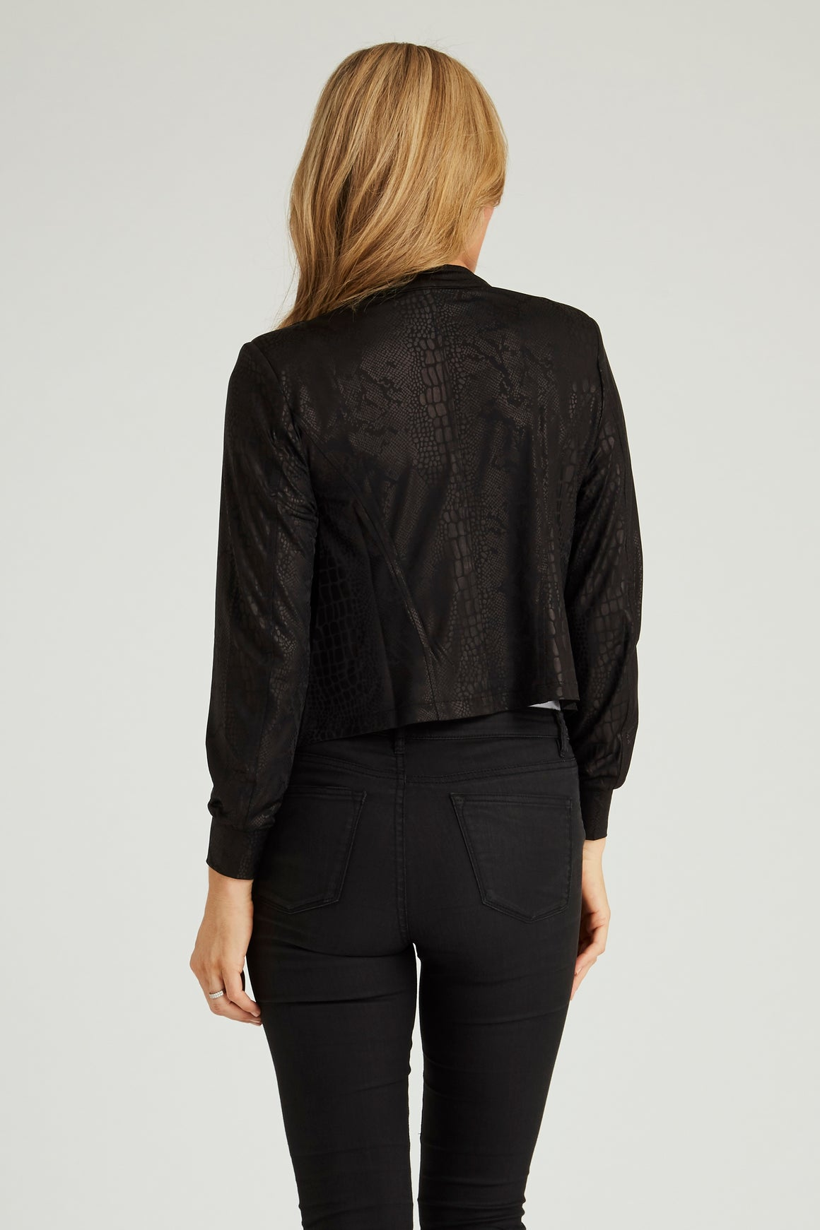 The Little Diva Jacket - Black
