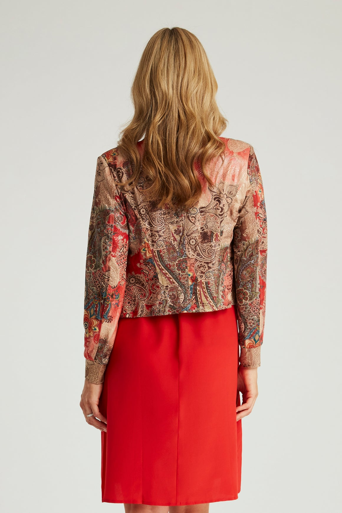 The Little Diva Jacket - Italian Paisley