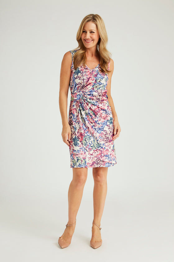 Wrap Dress - Summer Garden