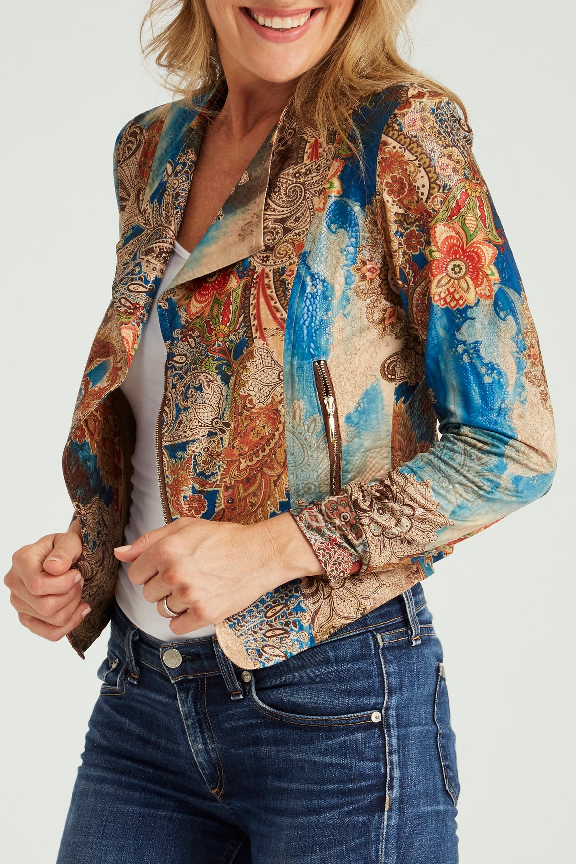 The Little Diva Jacket - French Paisley