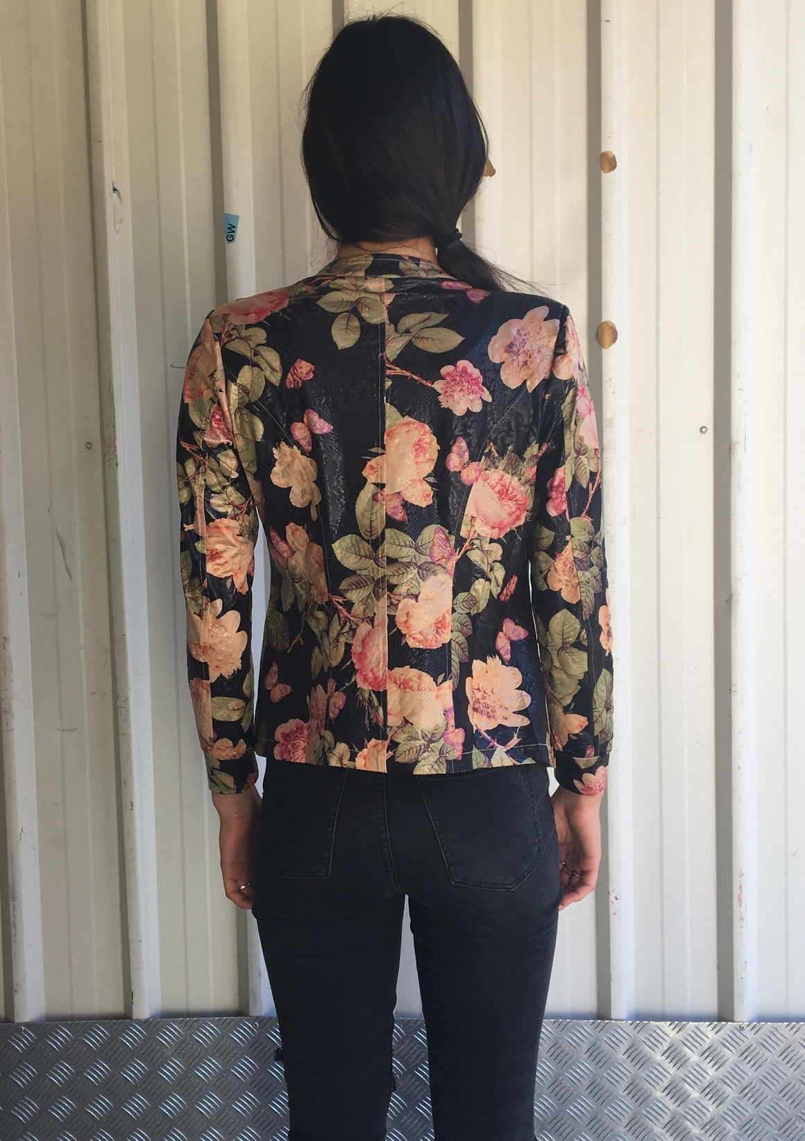 The Little Diva Jacket - Rose and Butterfly