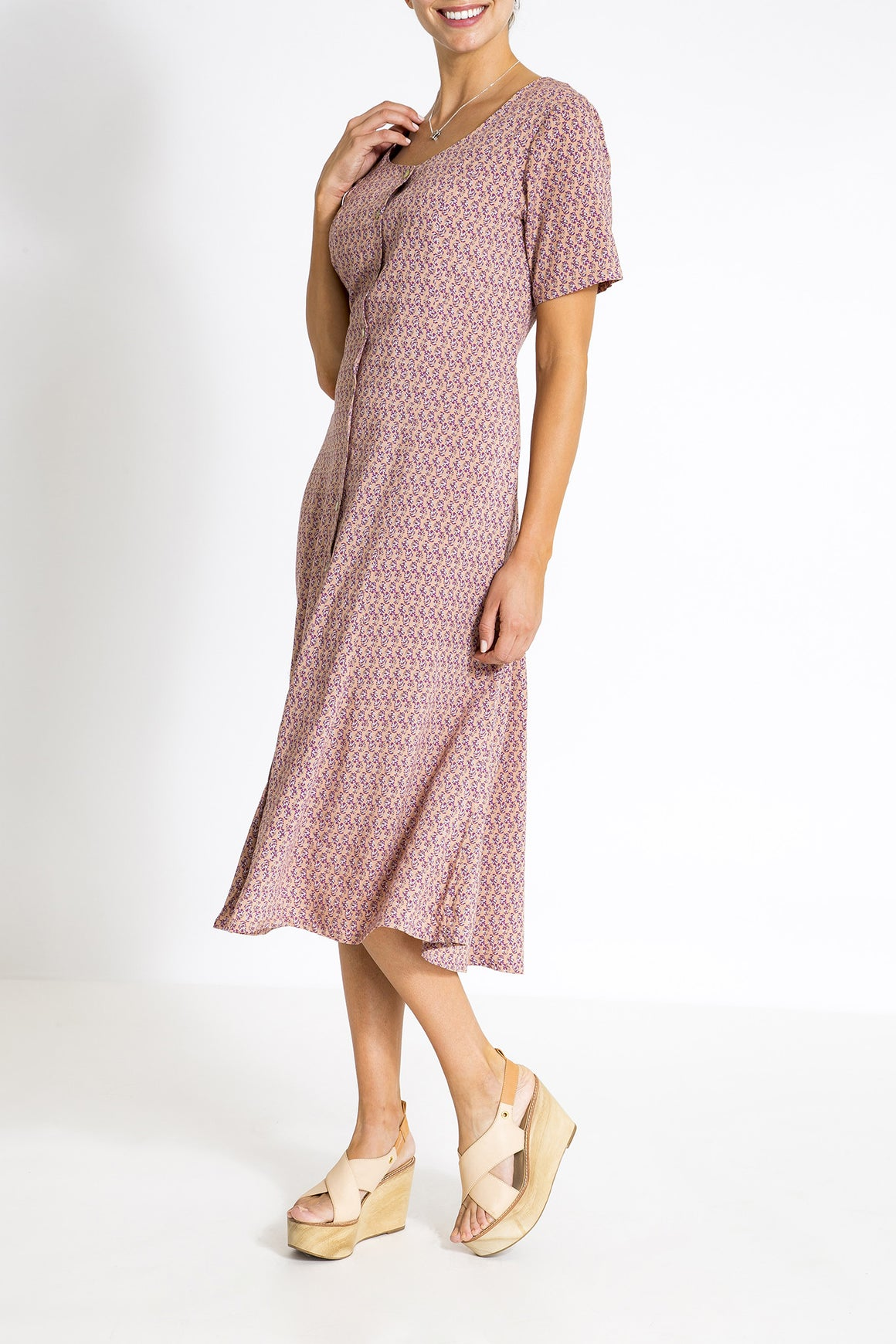 Summer Days Dress - Spring Pink