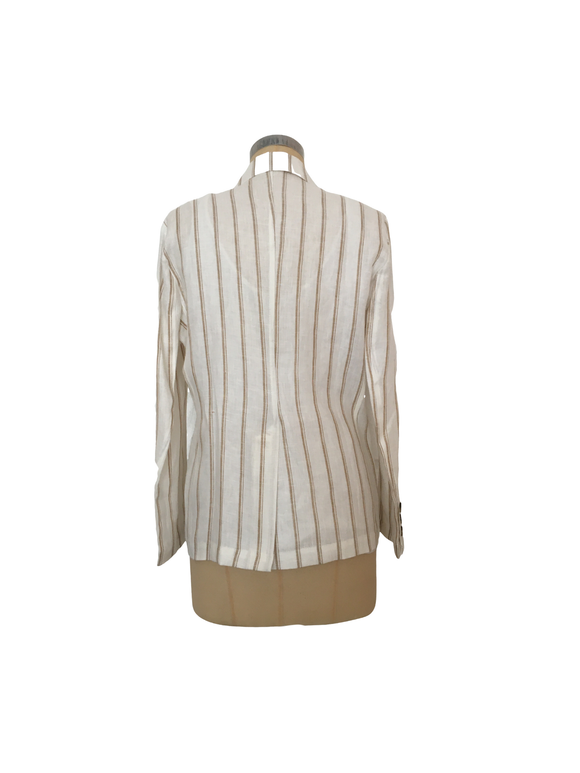 The Striped Linen Jacket