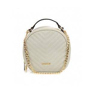 Women's Handbag Round Shaped Sand Color
