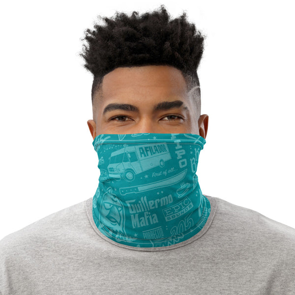 Roll Call Neck Gaiter (Teal)