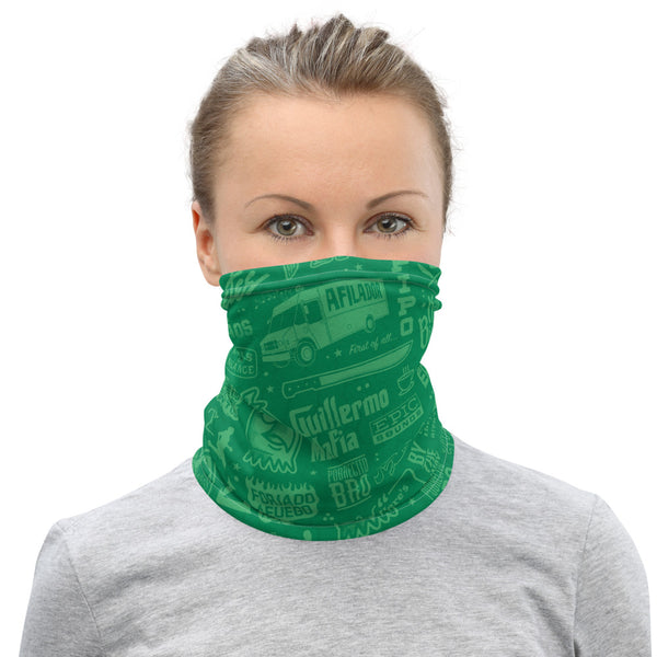 Roll Call Neck Gaiter (Green)