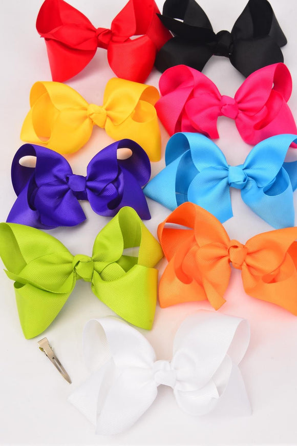Jumbo Bright Hair Bow