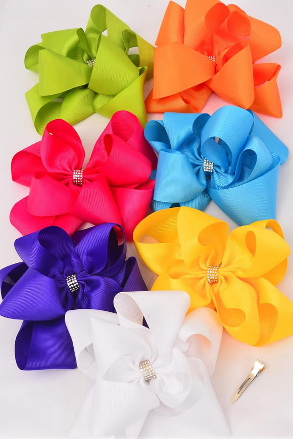 Jumbo Double Windmill Hair Bows