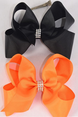 Jumbo Harvest Hair Bows
