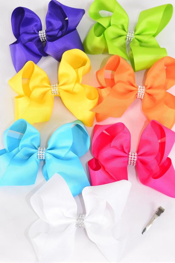 Jumbo Citrus Hair Bows