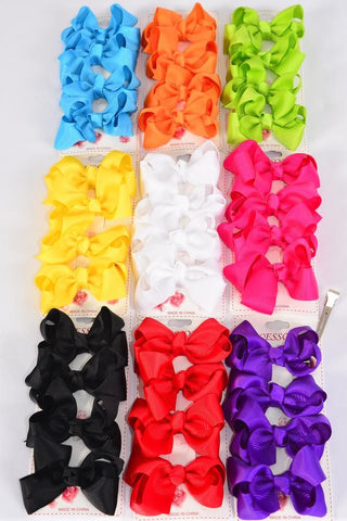 Mini Bright Hair Bows