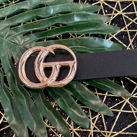 Solid Designer Inspired Belt