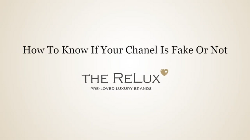 How to know if your Chanel is fake or not?