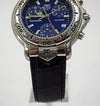 Mens Tag Heuer CH1111 Chronograph Professional Blue Dial Stainless Steel