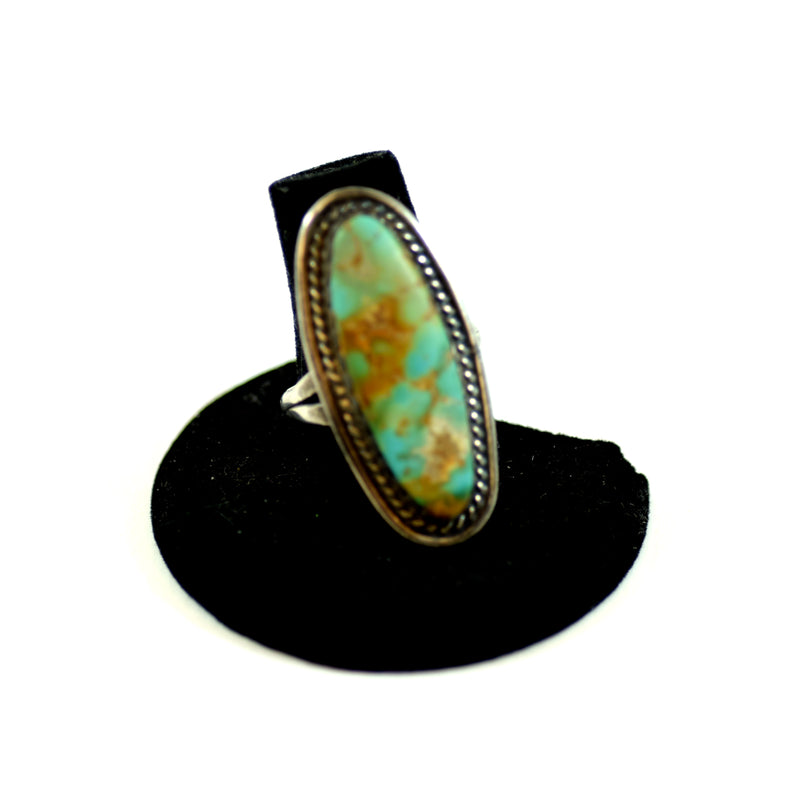Native Sterling Ladies Turquoise Ring