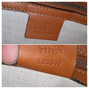 Gucci Web Original GG Boston Bag