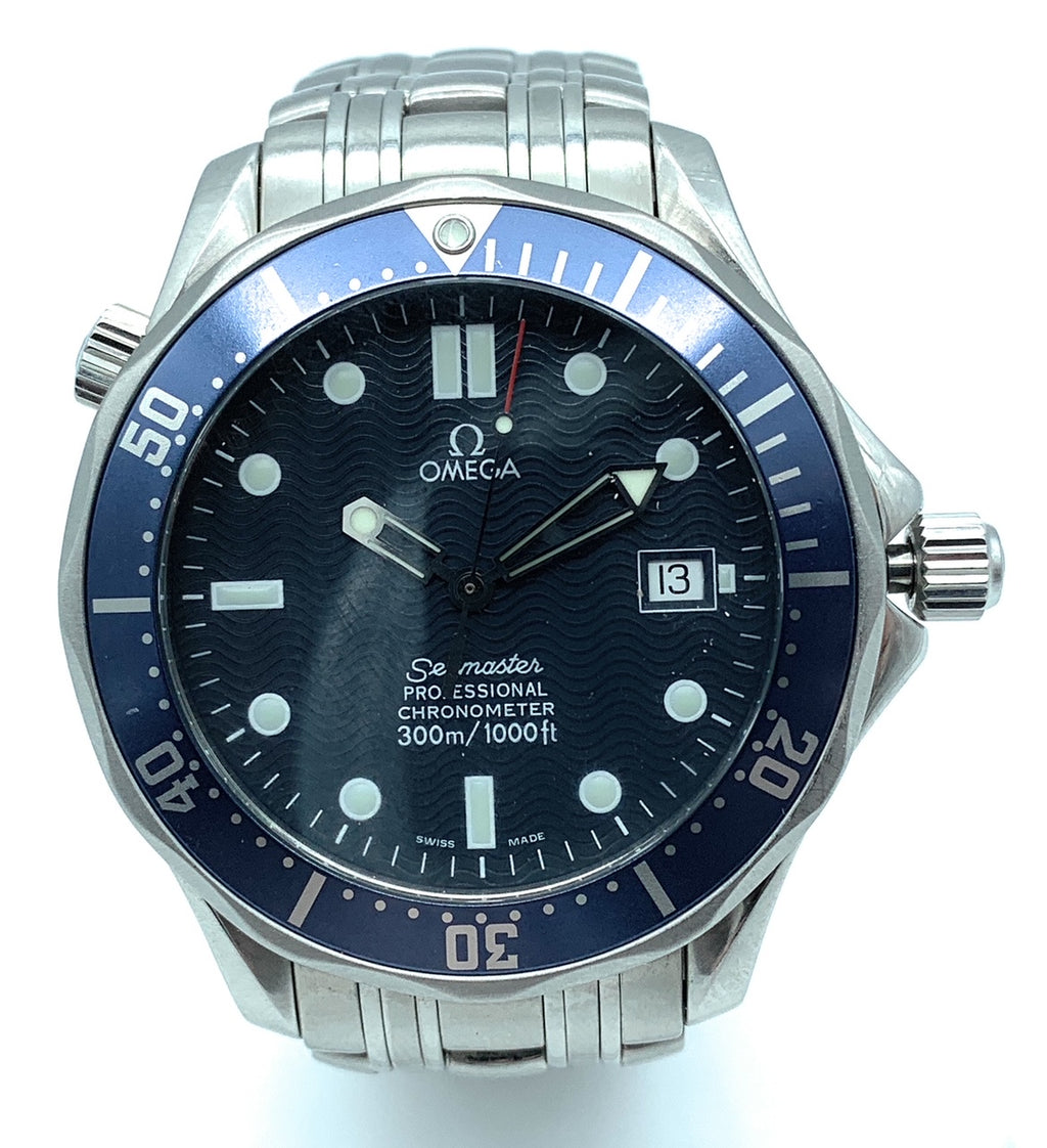 Omega Seamaster Professional Blue Dial James Bond Men's Watch 2531.80.00