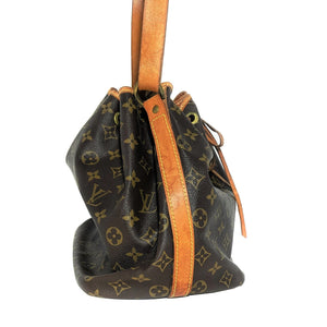 Louis Vuitton Vintage Monogram Noé Drawstring Bucket Bag