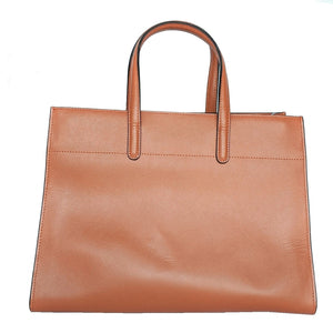Prada Double Papaya Saffiano Leather Tote