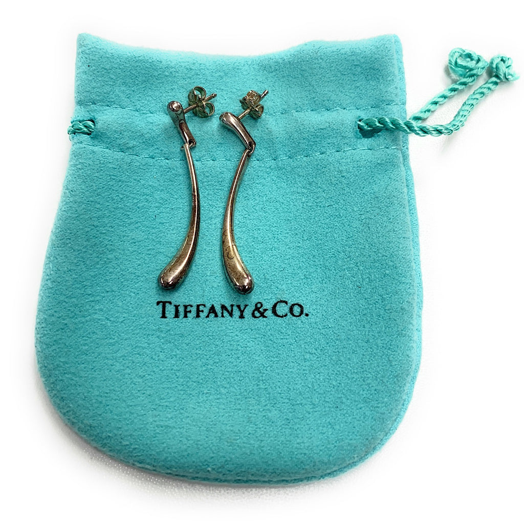 Tiffany & Co. Elsa Peretti Teardrop Dangle Earrings