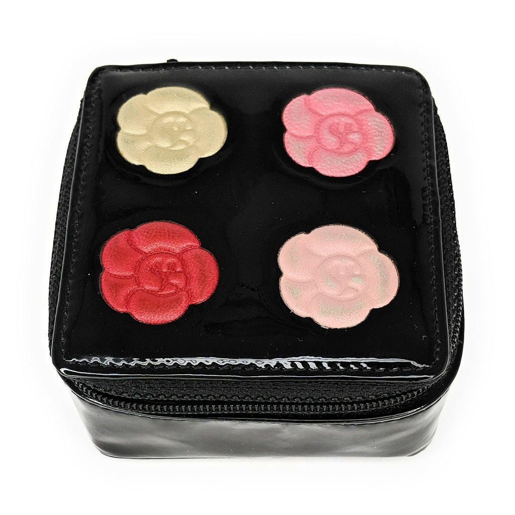 Chanel Camellia Flower Small Jewelry Pouch 2008-2009
