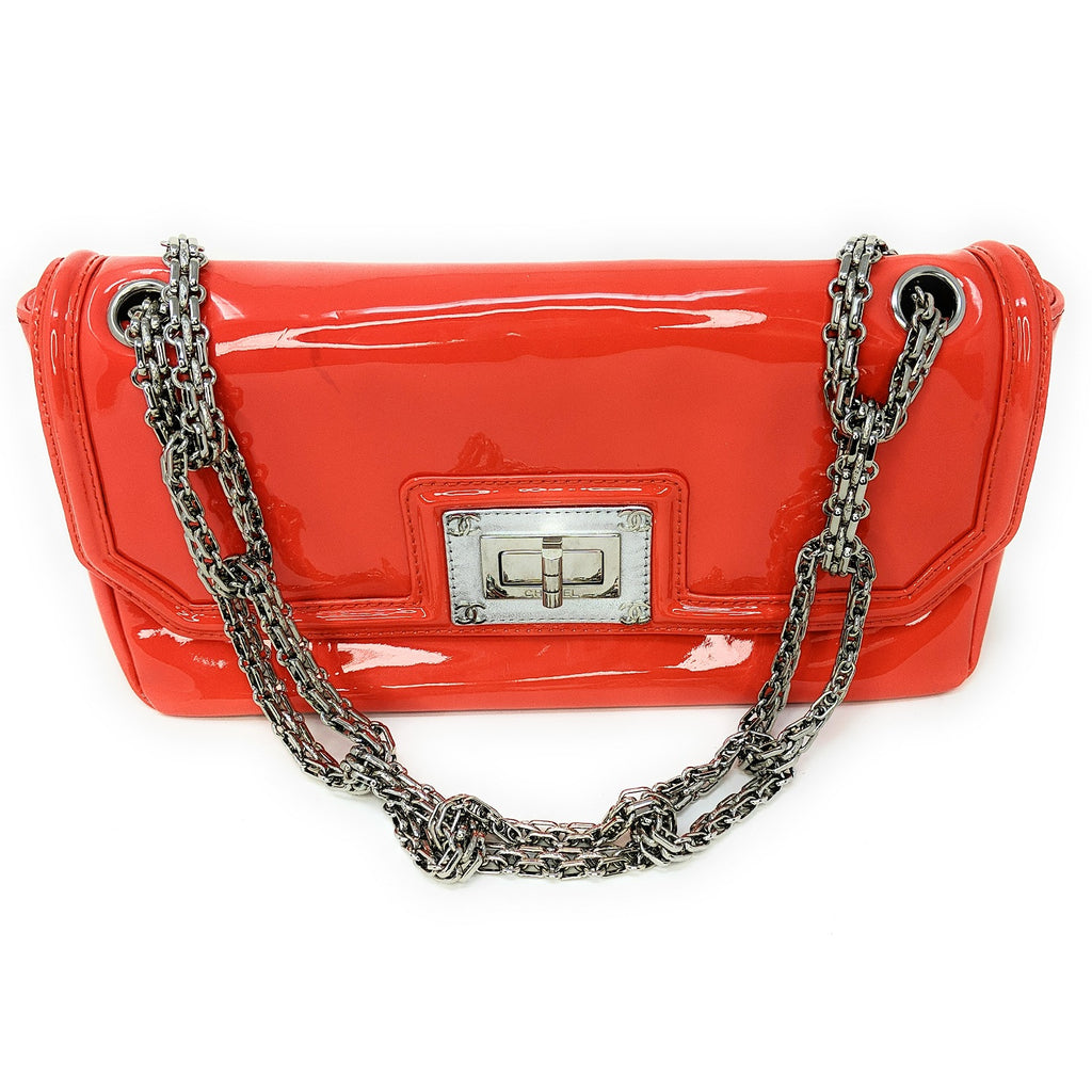 Chanel Mademoiselle Lock Linked Bijoux Chain Flap