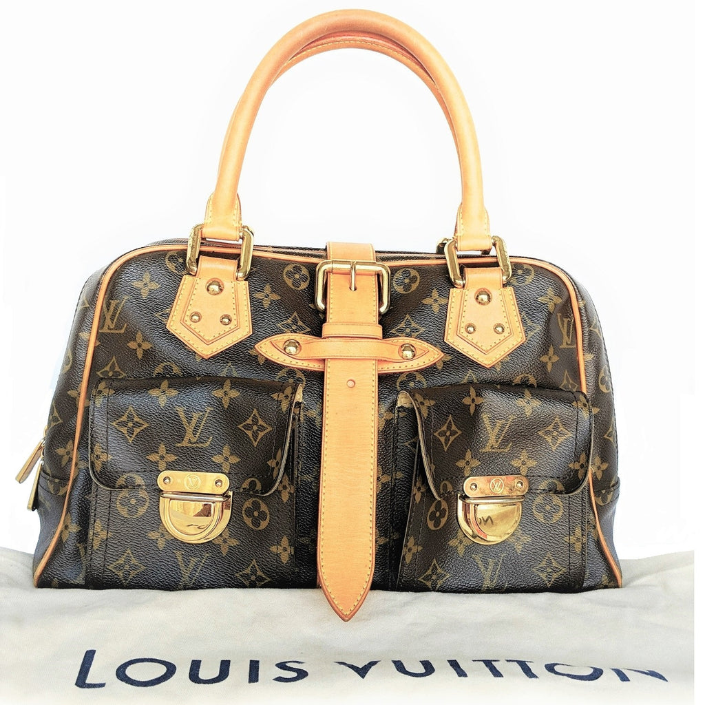 Louis Vuitton Monogram Canvas Manhattan GM