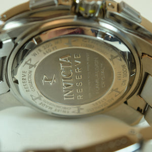 Invicta Mens Reserve 1959 Stainless Steel Wristwatch