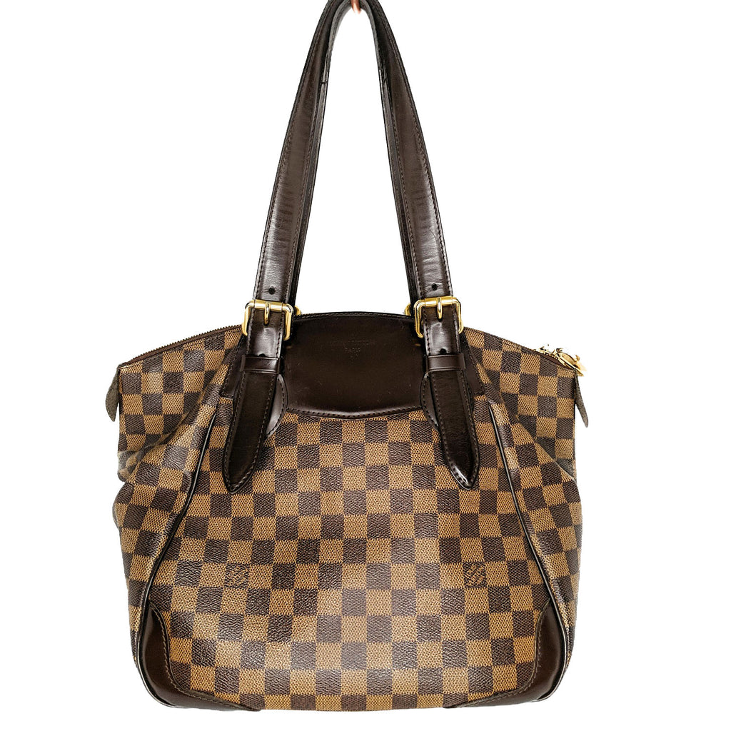 Louis Vuitton Damier Ebene Verona Bowling GM Bag