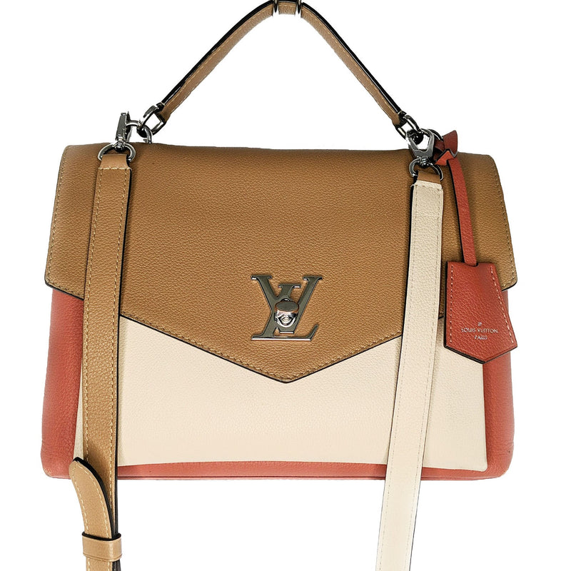 Louis Vuitton Soft Calfskin My Lockme Shoulder Bag