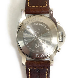 Panerai Luminor Daylight Firenze 1860 Stainless Steel Chrono Men's Watch