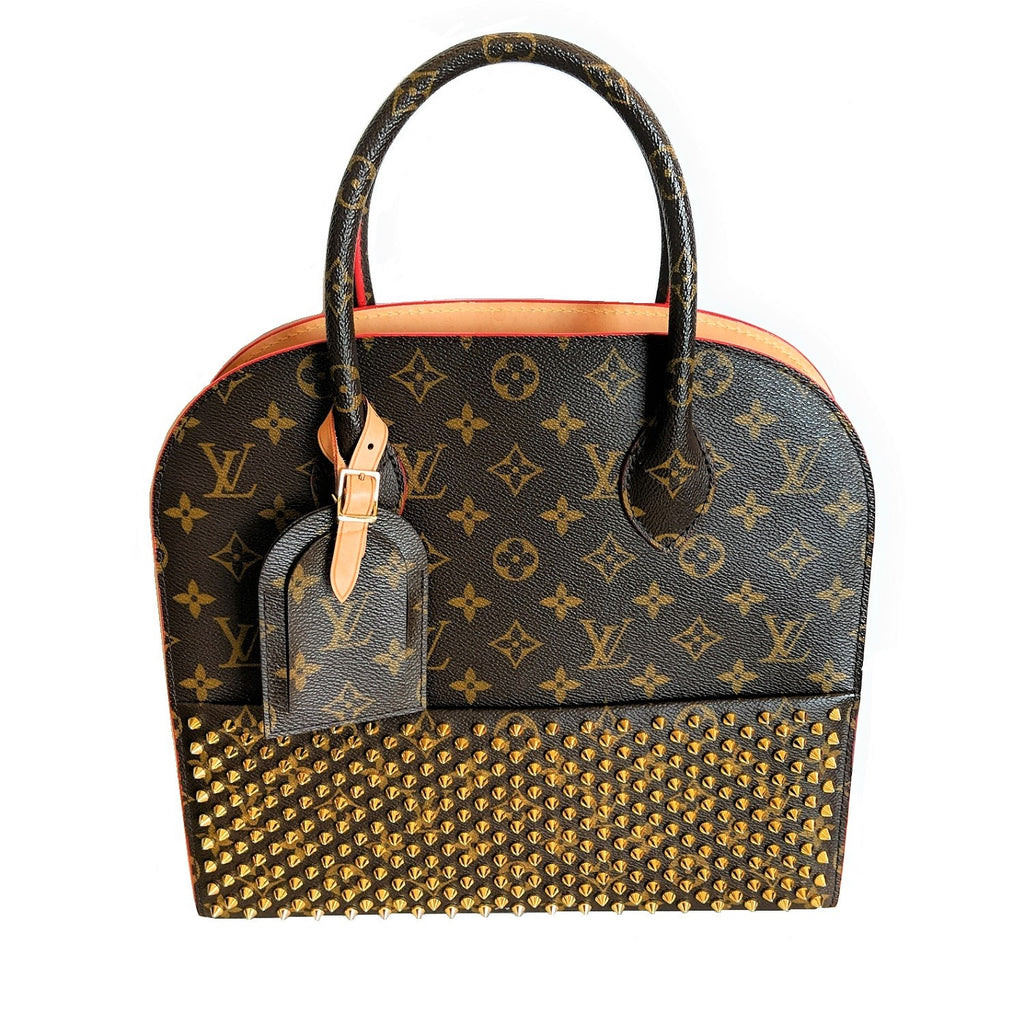 Louis Vuitton Monogram Iconoclasts Christian Louboutin Shopping Bag