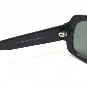 Versace Red & Black Mod 4046-B Sunglasses
