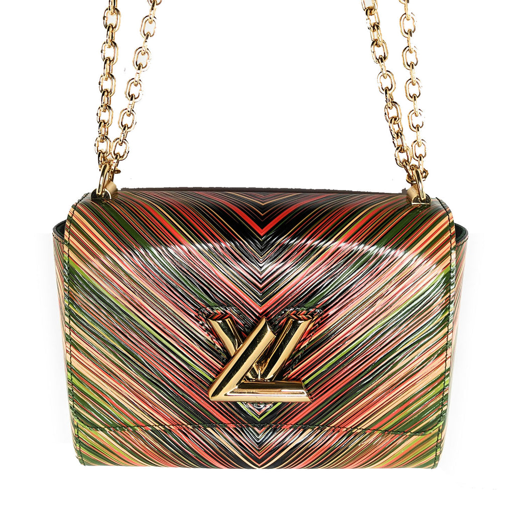 Louis Vuitton EPI Twist MM Tropical Cross-body Bag